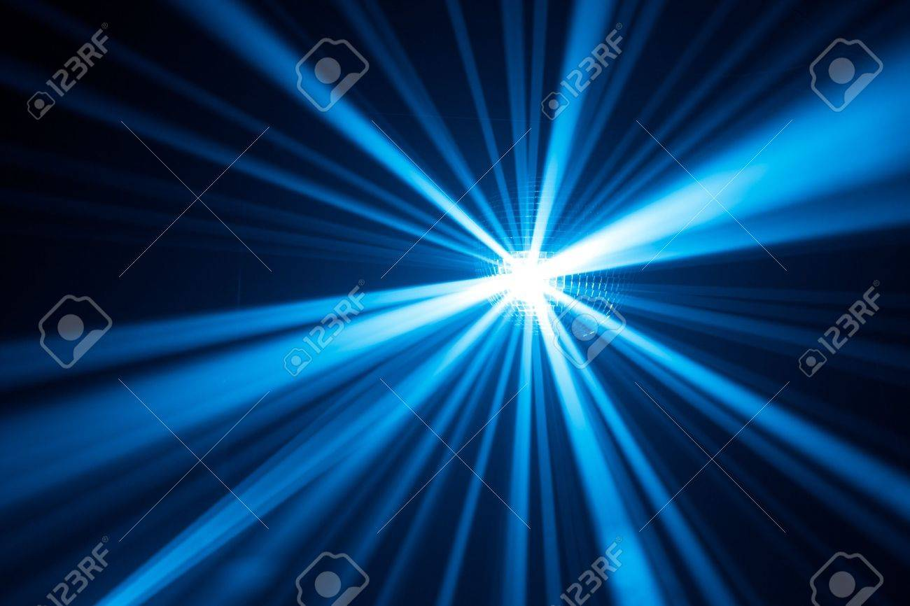 blue disco lights Stock Photo - 7217179