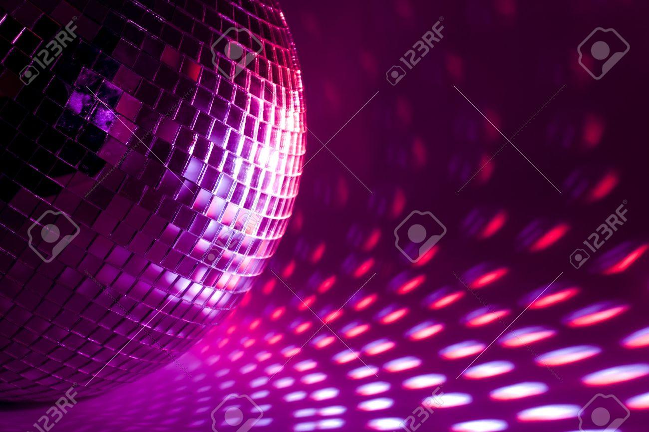 purple disco background Stock Photo - 7962717