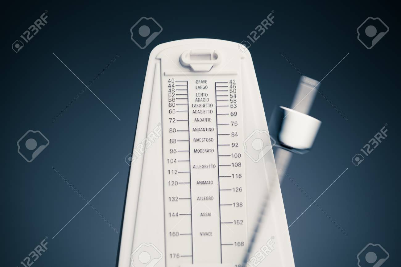music metronome Stock Photo - 15754932