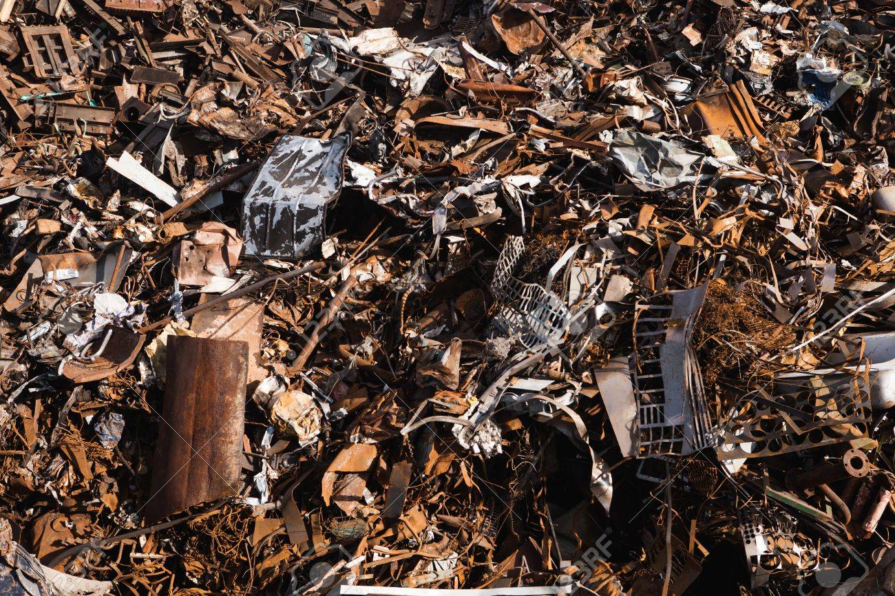 scrap metal background Stock Photo - 20363494