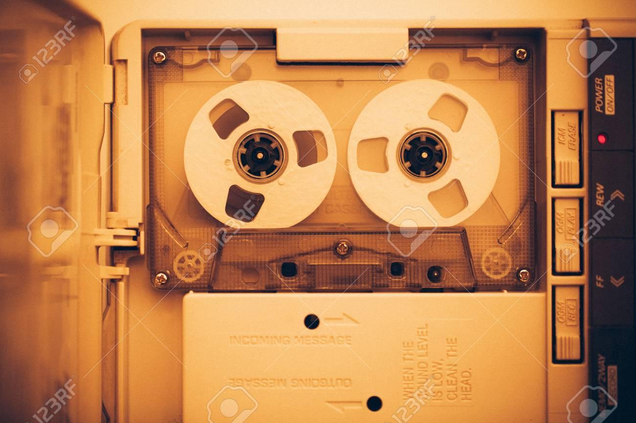 bruit rembobinage cassette