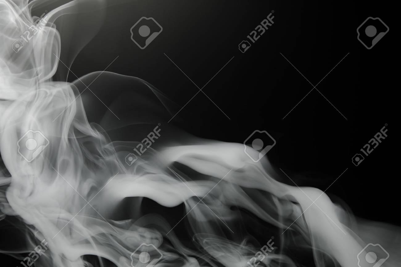 smoke background on black - 69628959