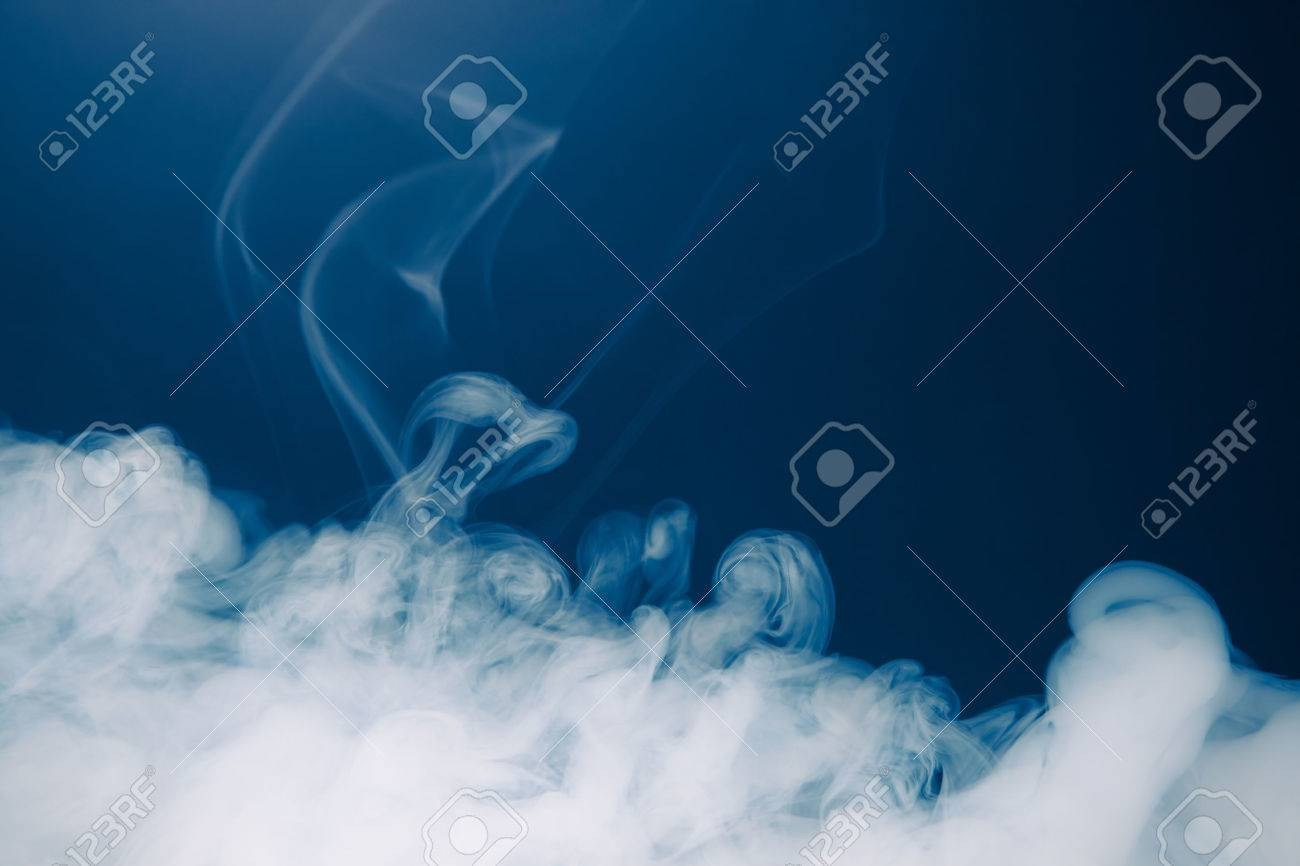 blue smoke background - 71227133
