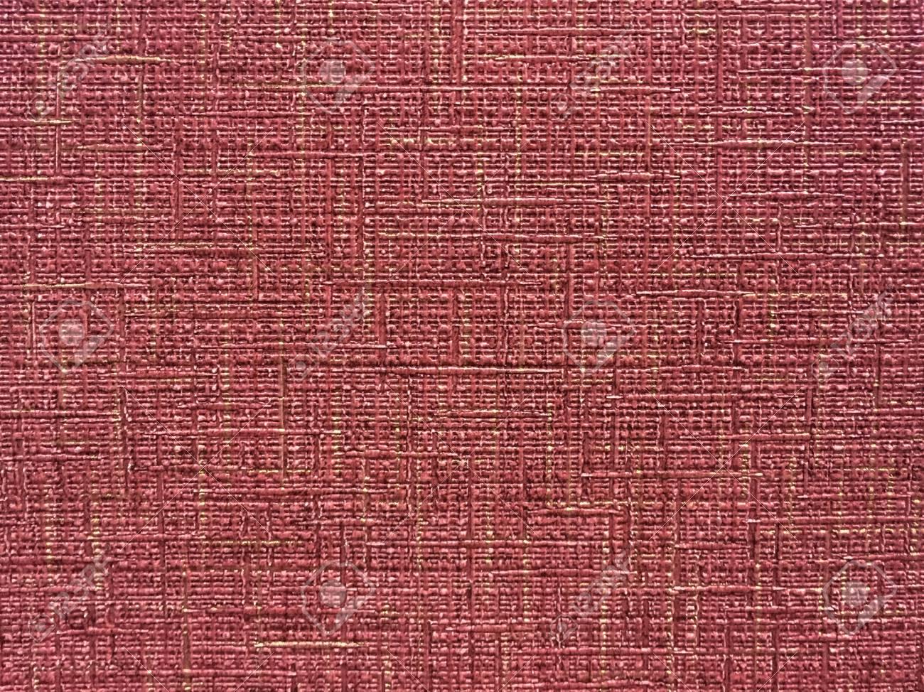 Texture De Papier Peint Rouge Fonce Avec Un Motif Depouille Surface