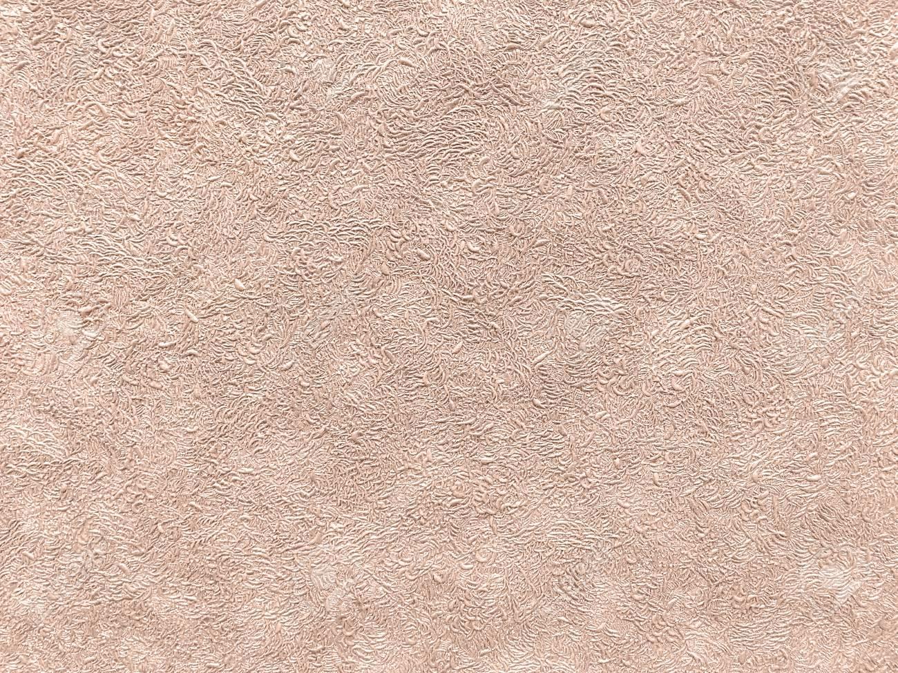 Texture De Papier Peint Marron Clair Avec Un Motif Bouclé. Surface ...