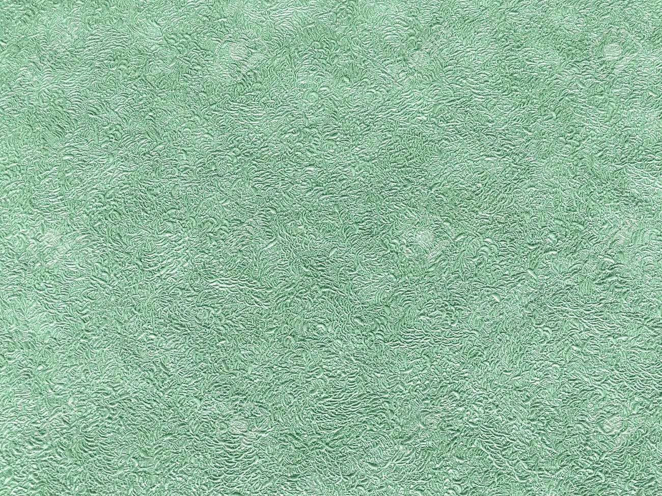 Texture Of Light Green Wallpaper With A Curly Pattern Cyan Paper