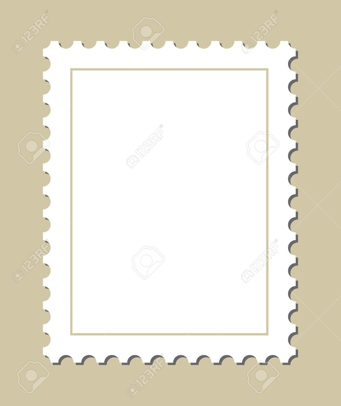 Blank Stamp Template