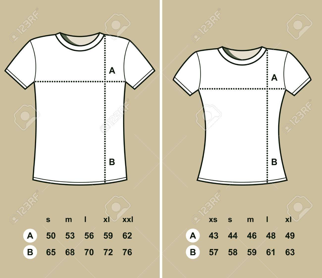women to men shirt size