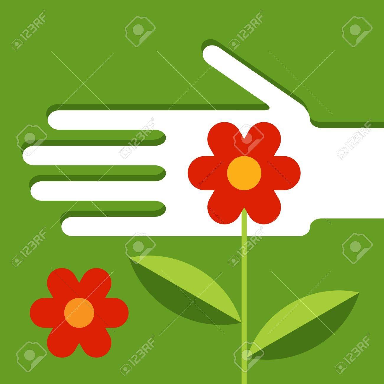 Garden maintenance Stock Vector - 14087063