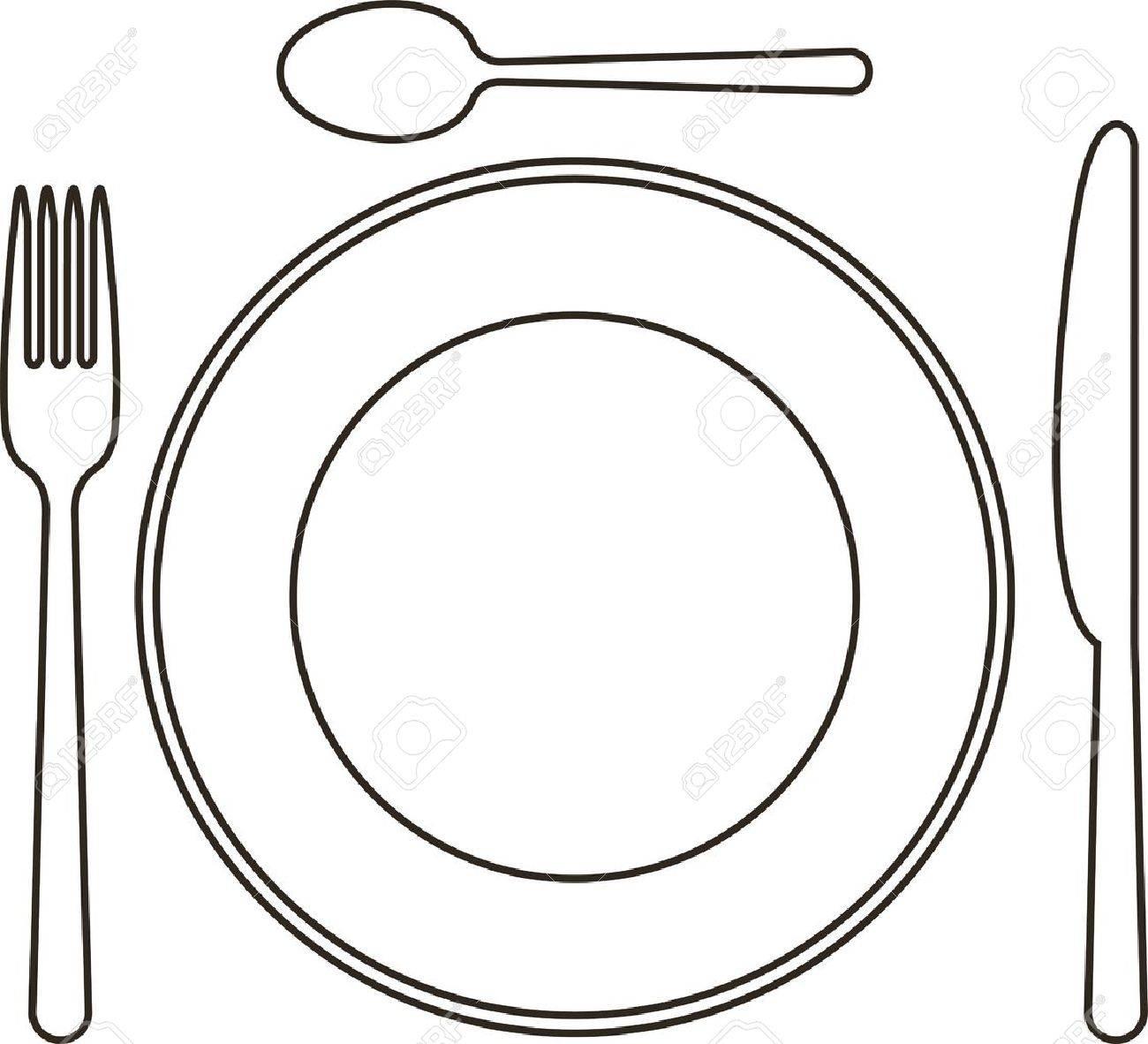 Dinner Plate Template Elioleracom