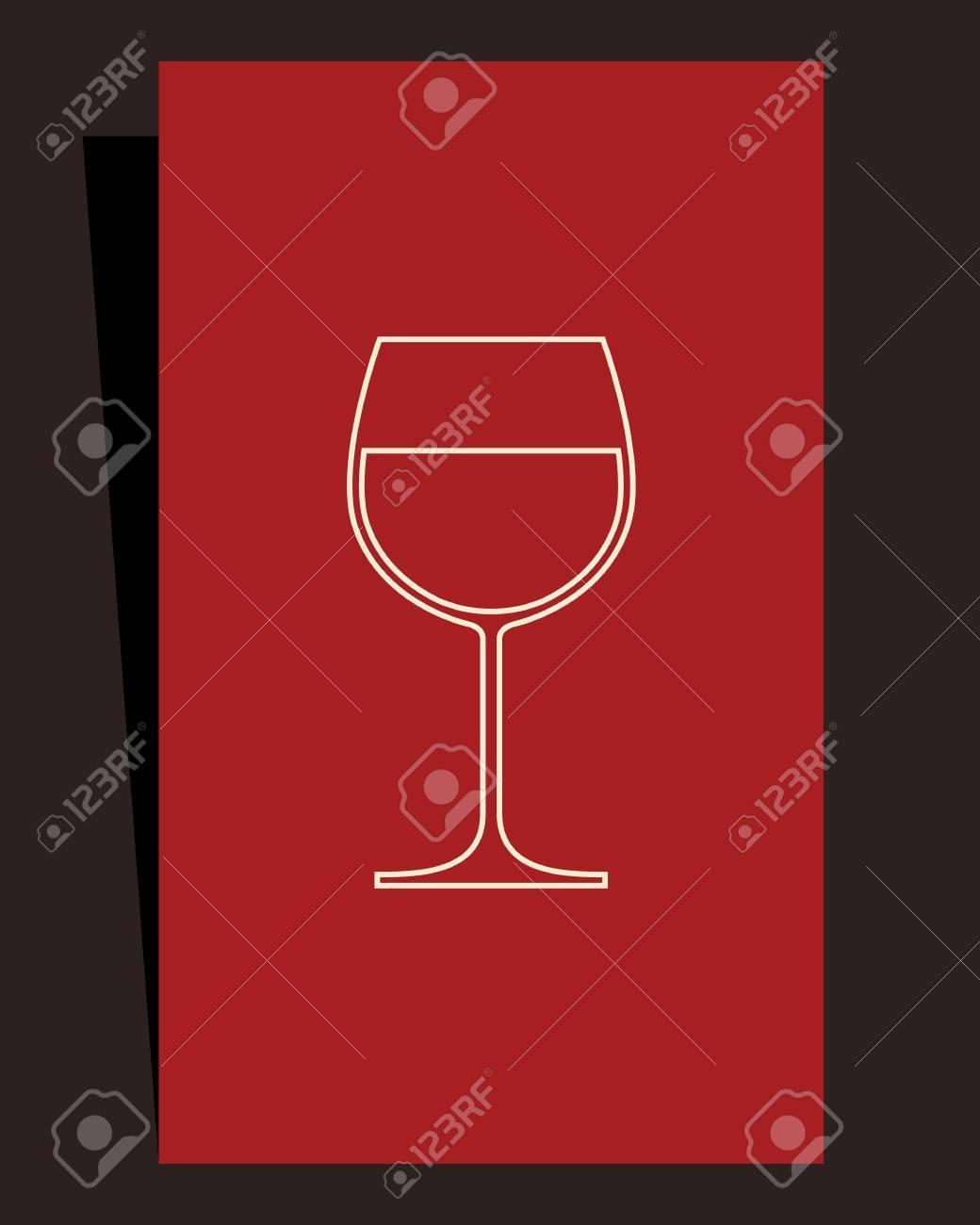 Wine list design Stock Vector - 15124624