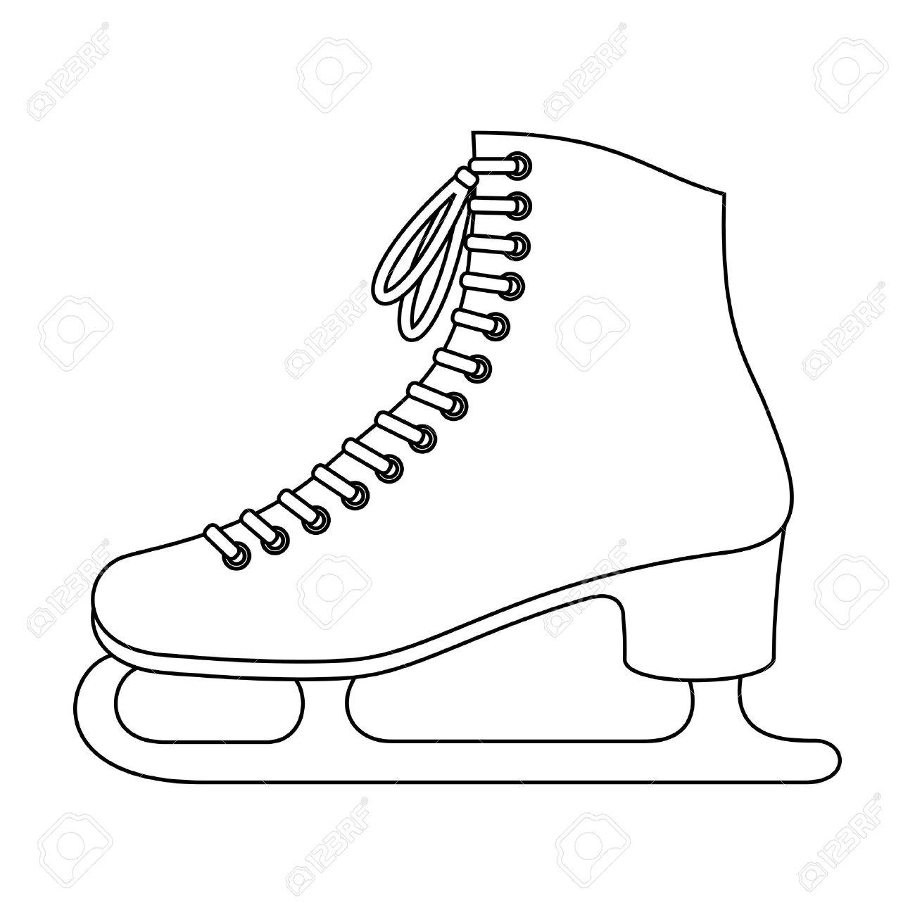 Ice skates Stock Vector - 15649433