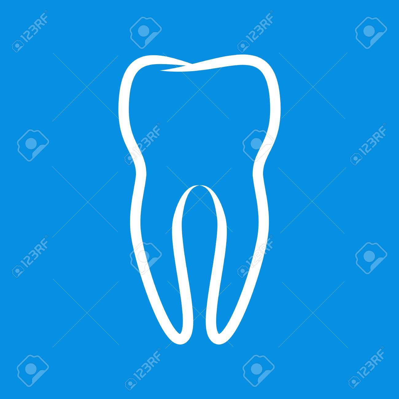 Sign of tooth Stock Vector - 17122980