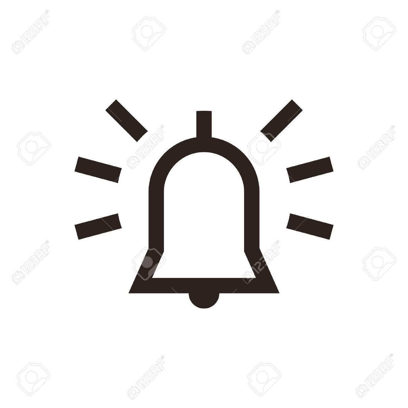 Alarm icon isolated on white background - 28503952