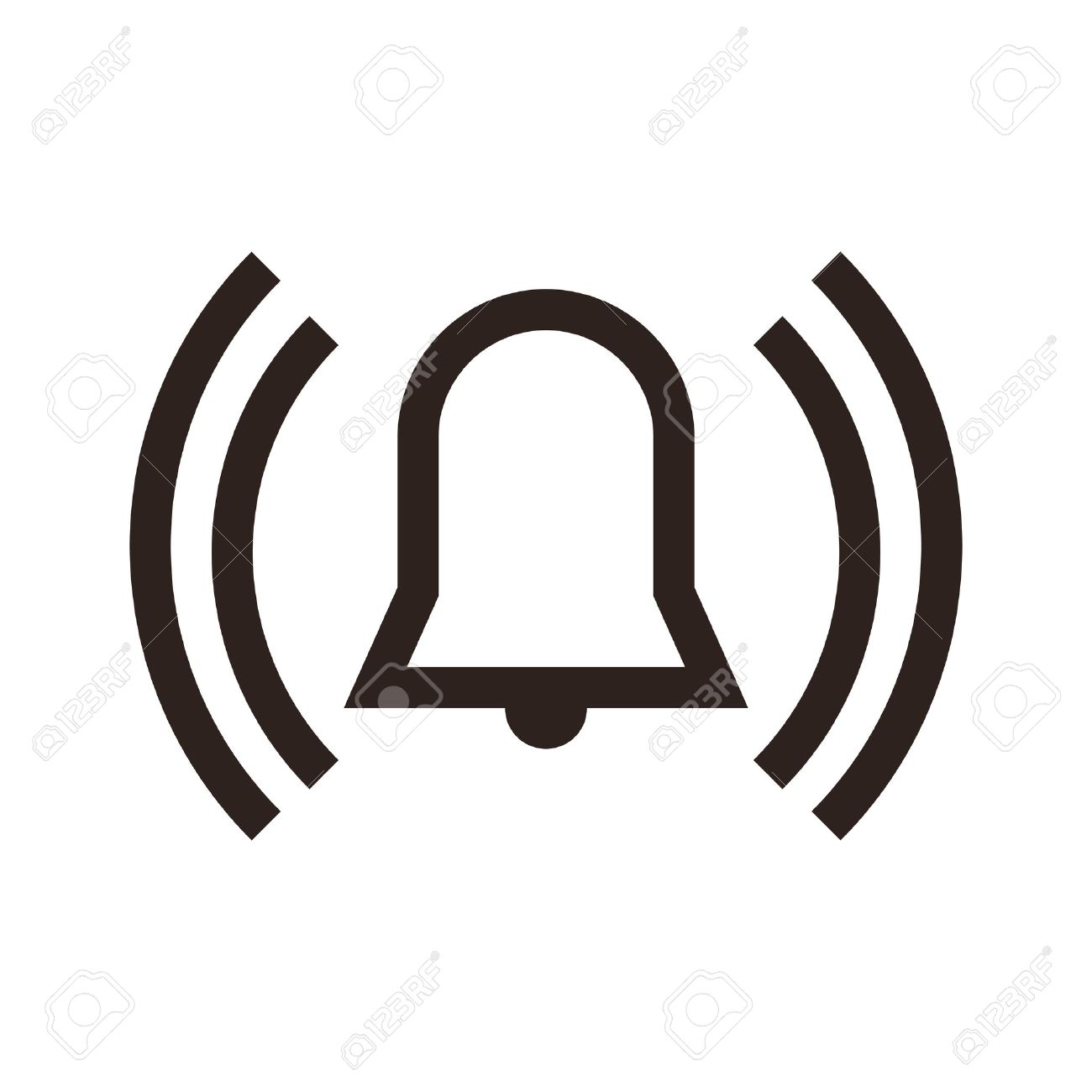 showing post media for alarm symbol www