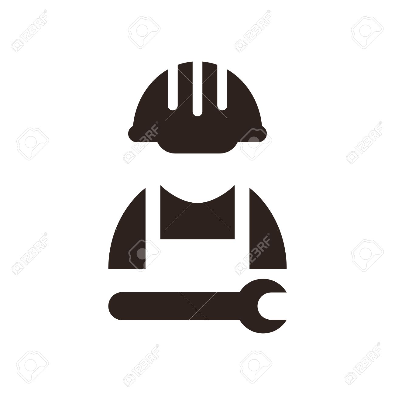 Construction Worker Icon Vector Construction Worker Icon
