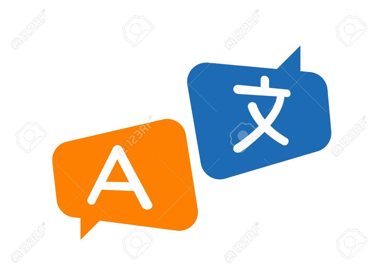 translation icon vector. translator, language - 115207839