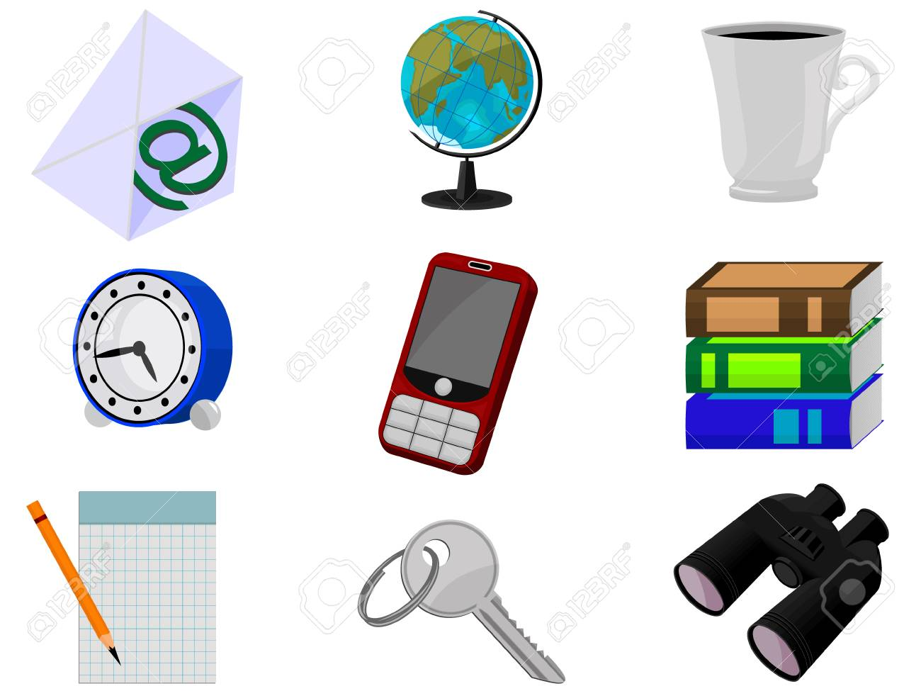Icons for web design in a vector Stock Vector - 3659844