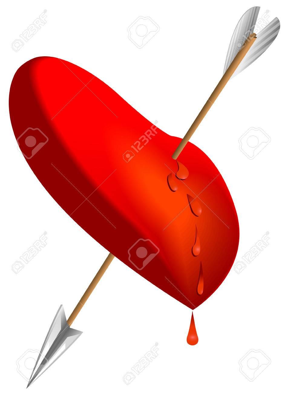 Showing post & media for Love heart arrows symbols | www ...