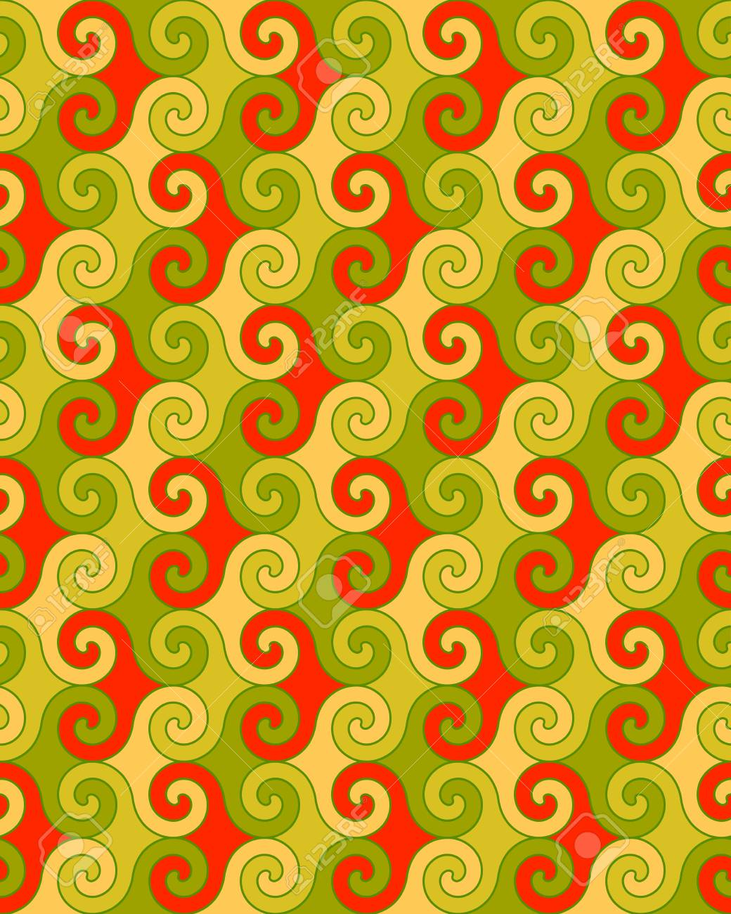 seamless a background a pattern in the Greek style - a vector Stock Vector - 10785504