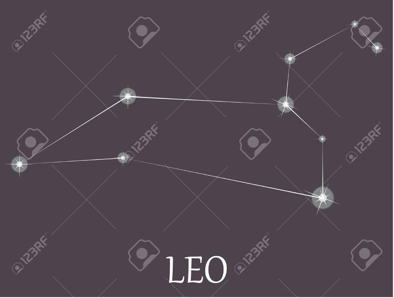 Leo Zodiac sign. Stock Vector - 19530338