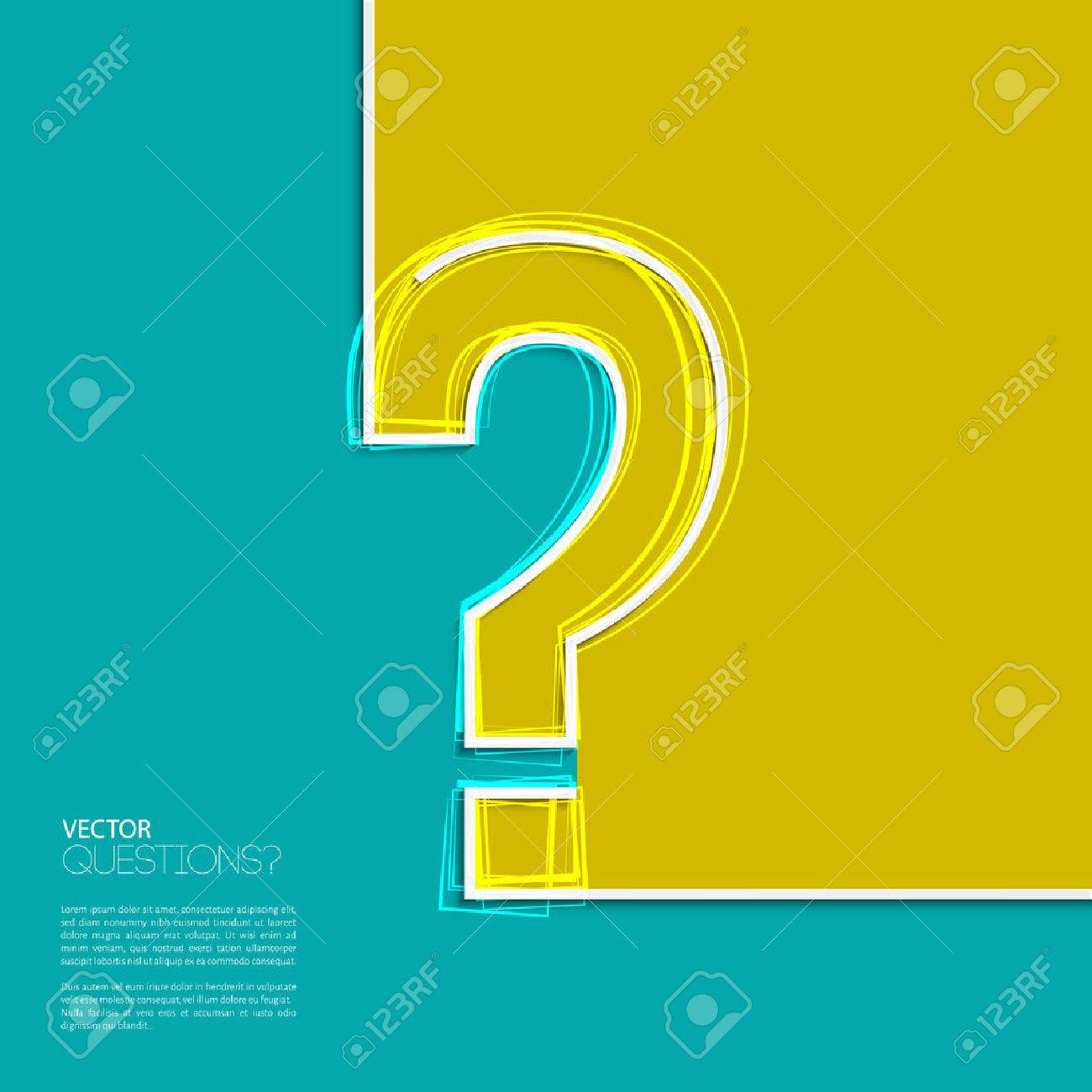 Question mark icon in flat design. - 32562227