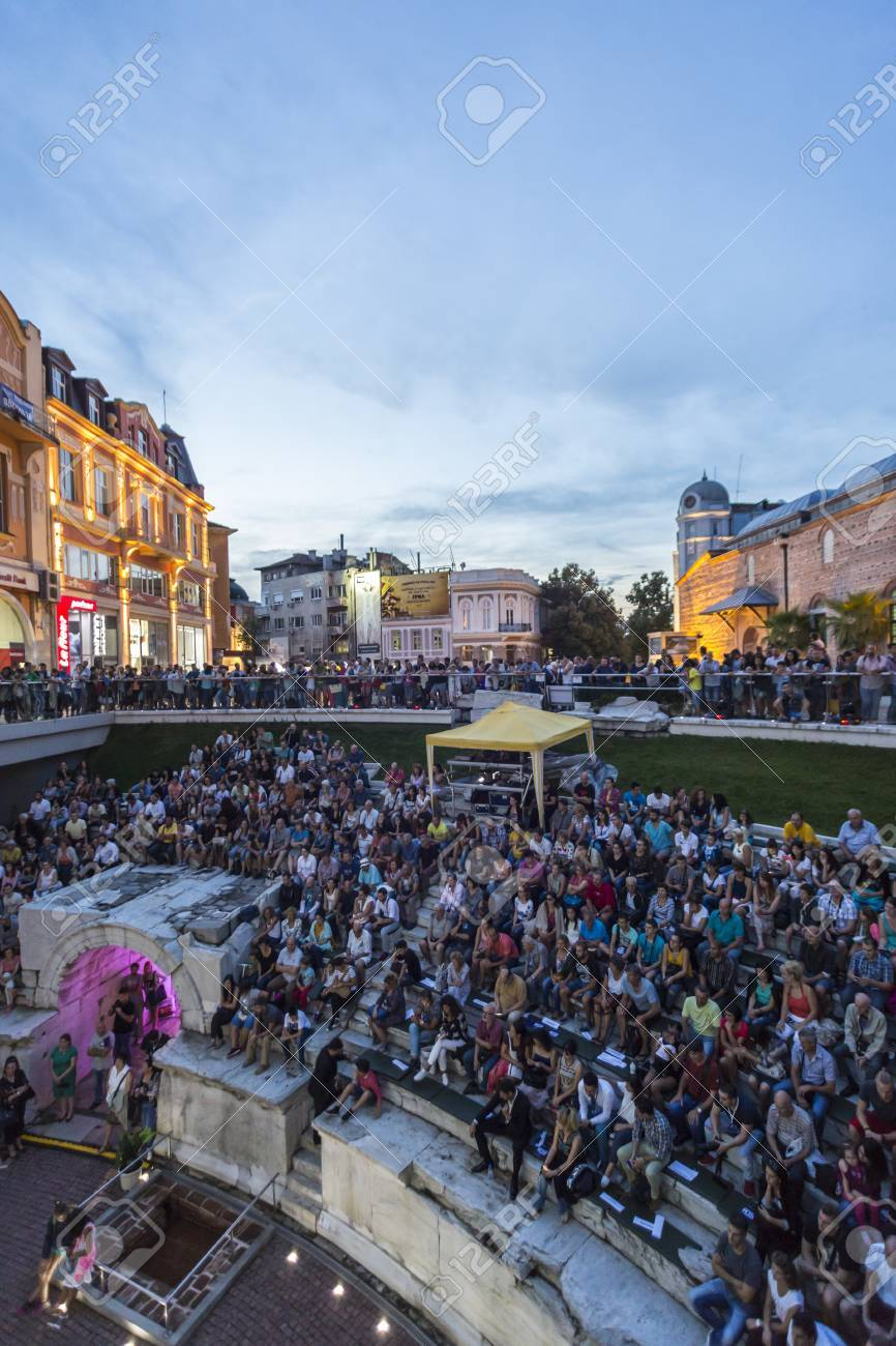 PLOVDIV, BULGARIA - AUGUST 19, 2016 - First drone festival in