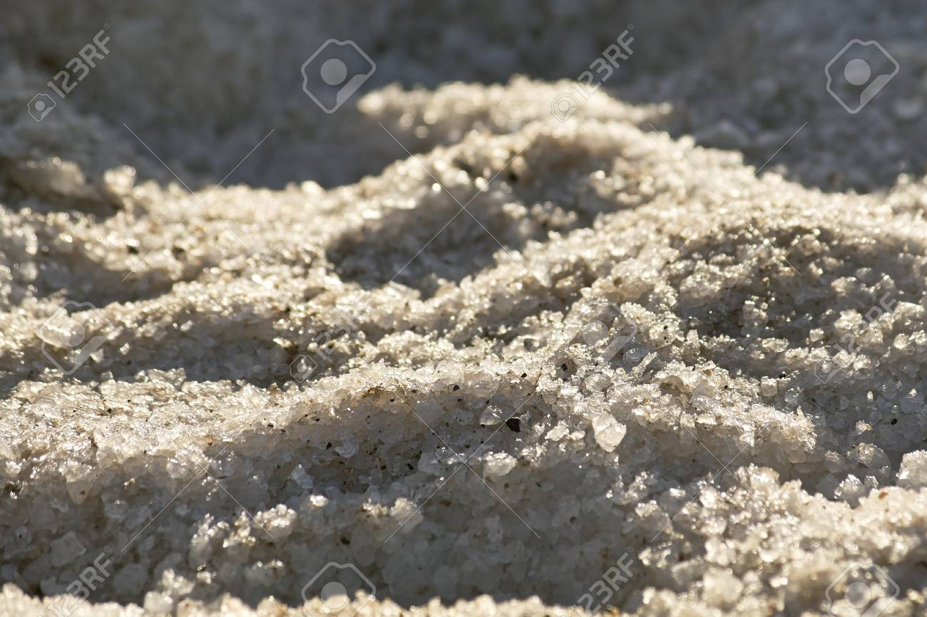 Salt crystals Stock Photo - 17453044