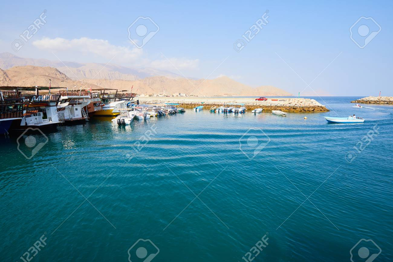 fishing vessel in the port of Oman - 82921376