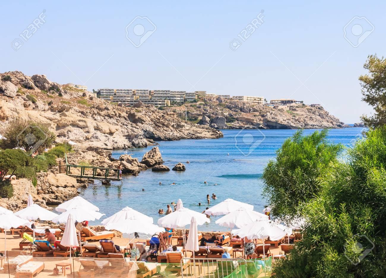 playa kallithea rodas