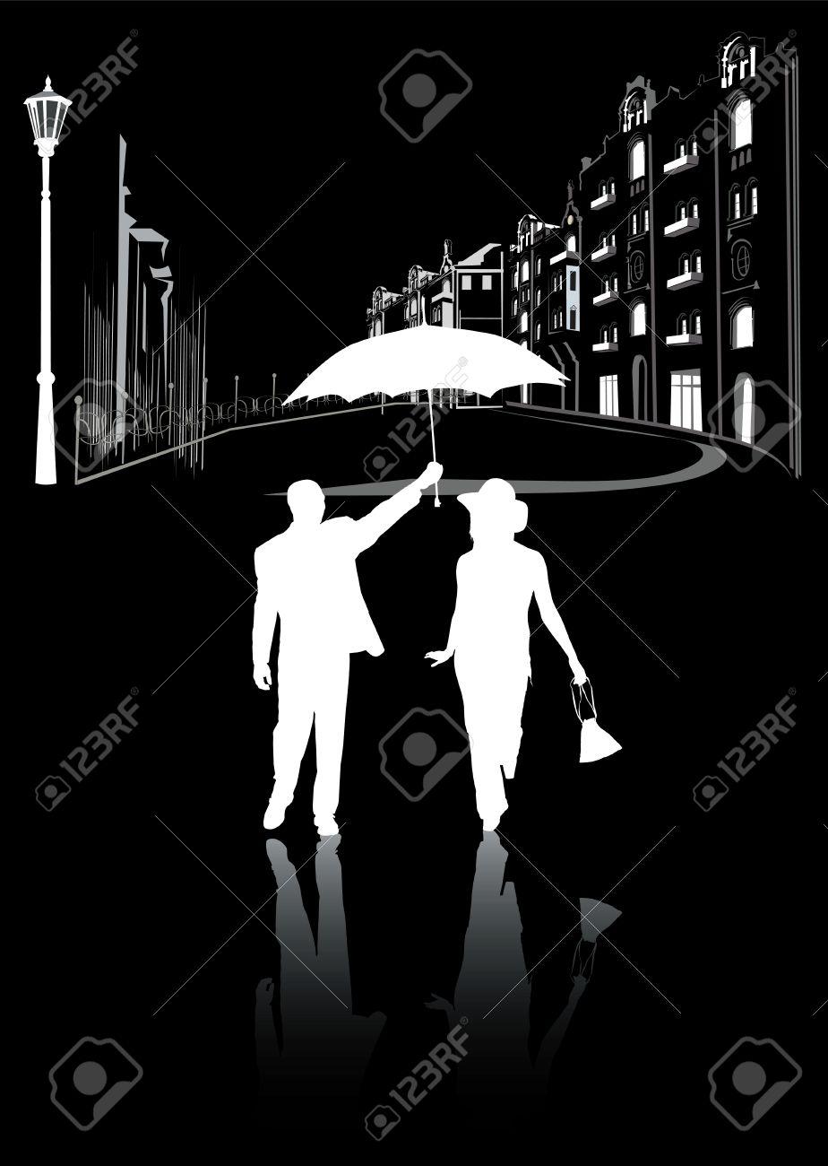 Чёрно белое фото мужчина и женщина 25 фотография