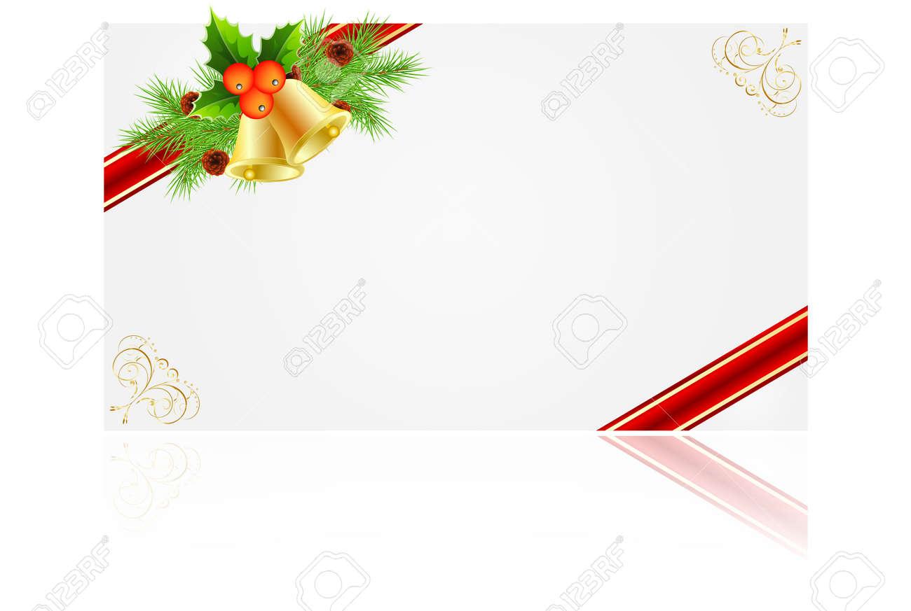 Navidad Marcos Para Crear Tarjetas De Felicitación Ilustraciones ...