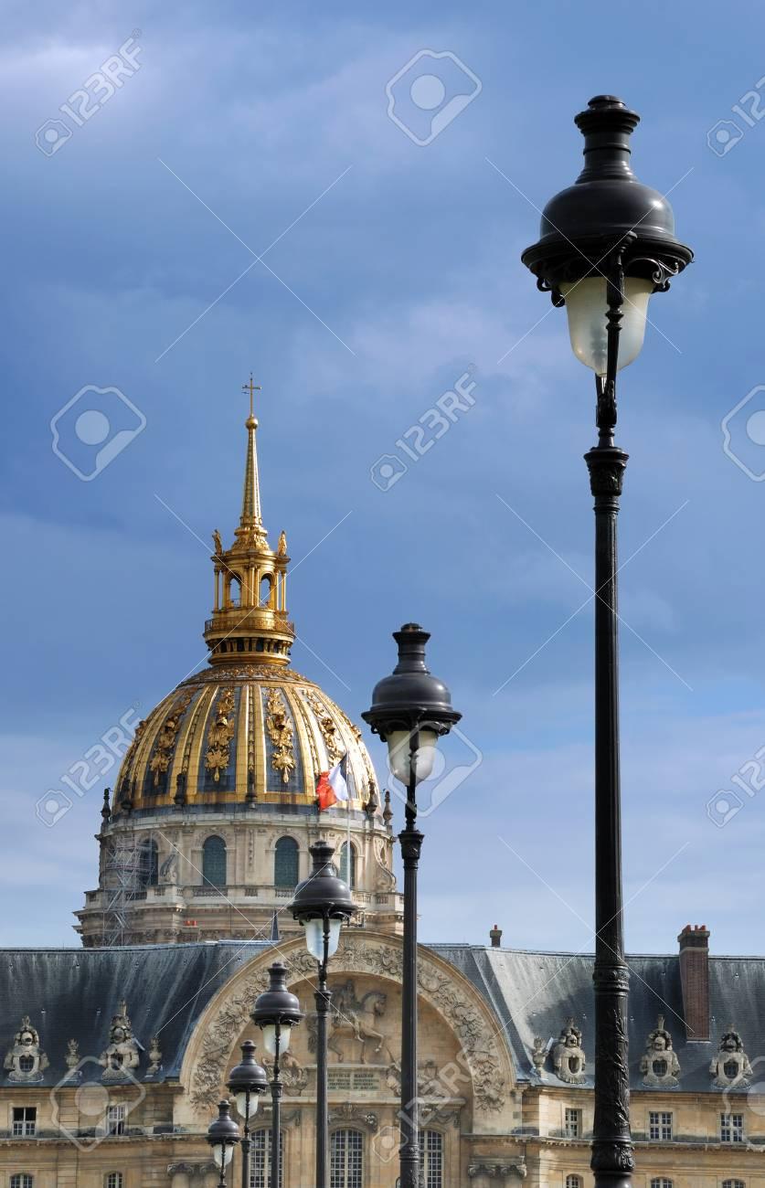 chapel of saint louis des invalides built 1679 in paris france