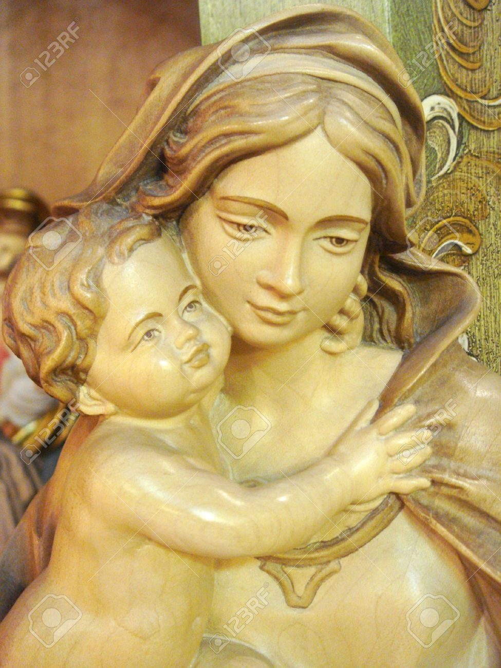 Virgin Mary and Christ Child Stock Photo - 6724488