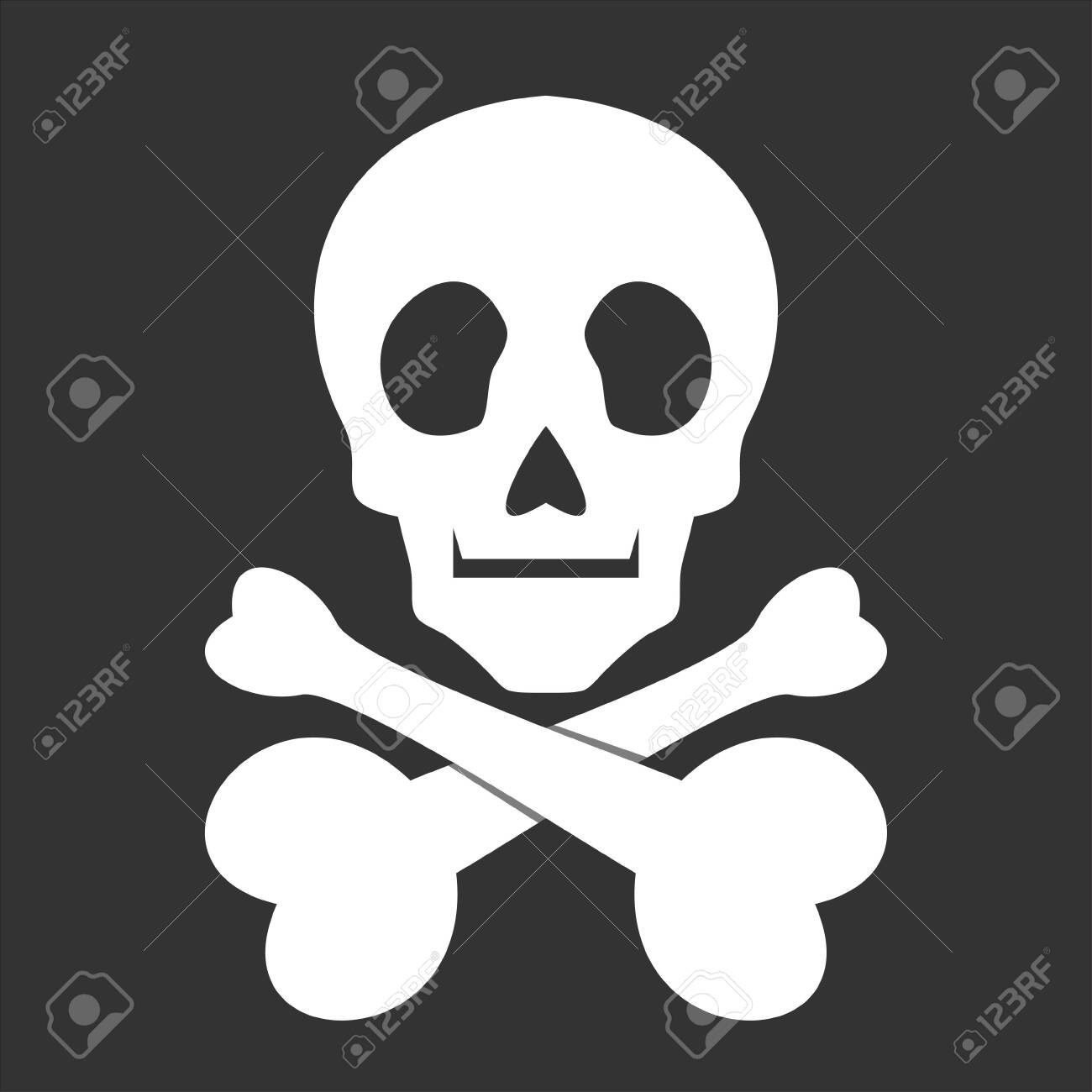 skull icon - 135878919
