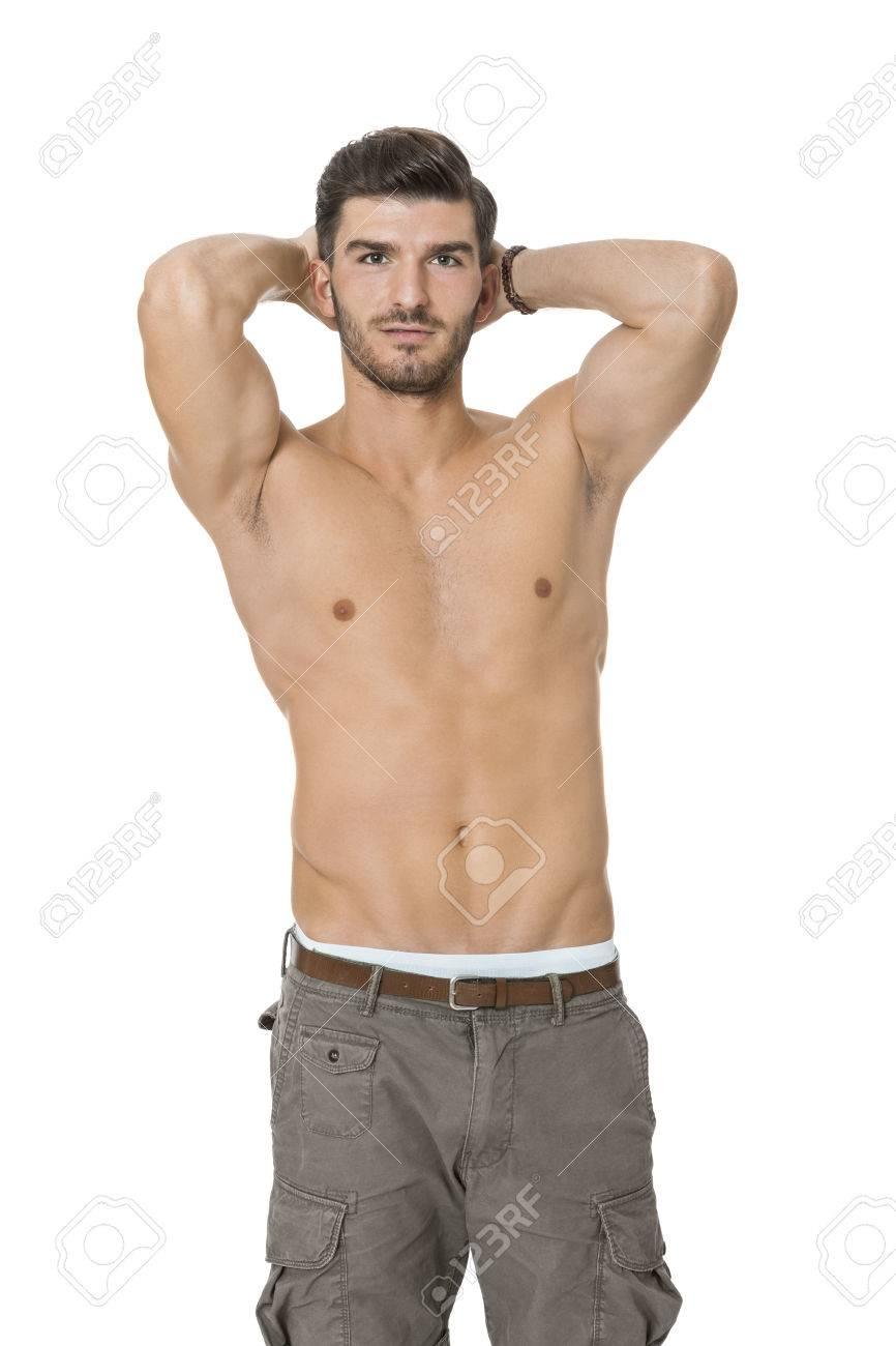 model oberkörper nackt