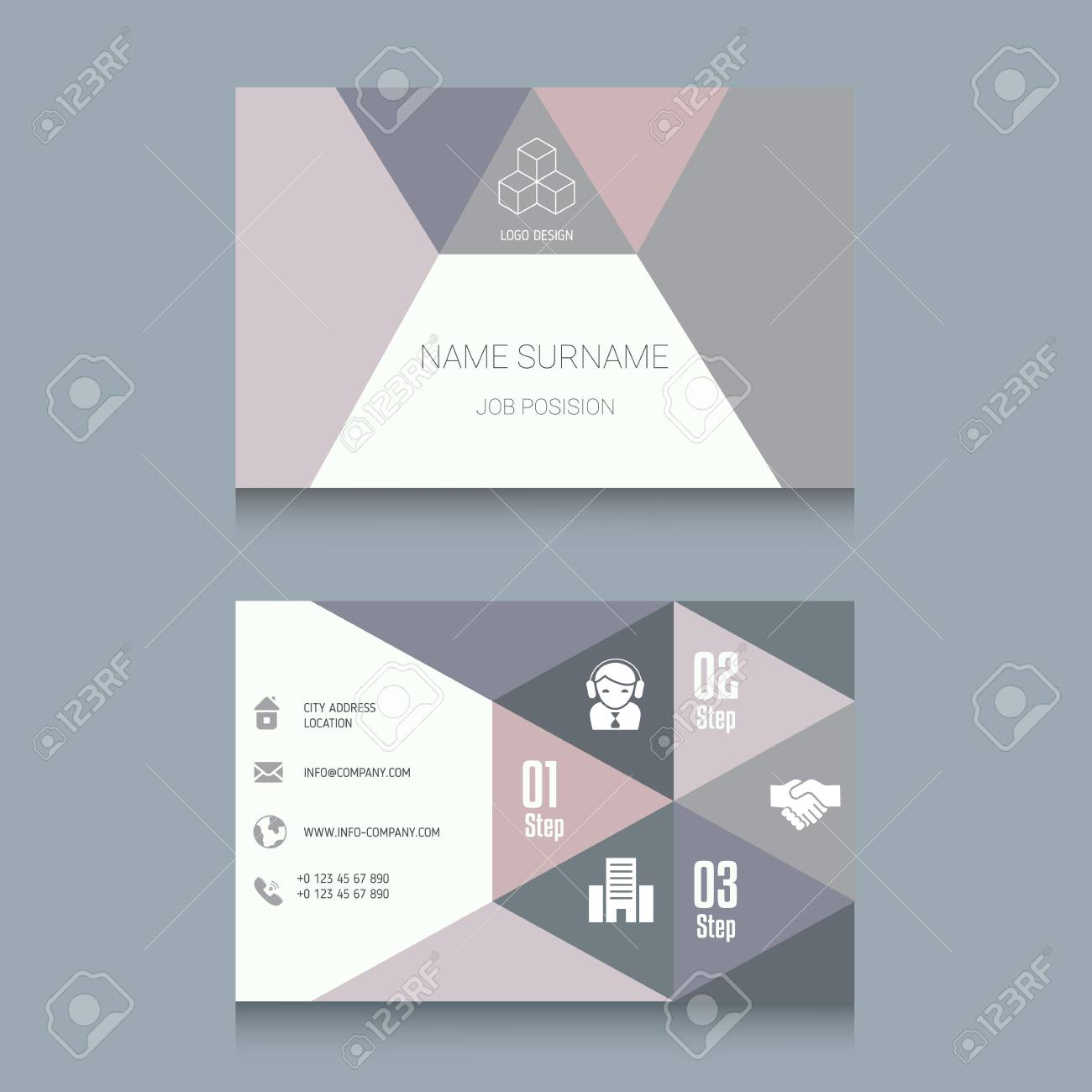 Business card designs easy to adapt business vector set royalty business card designs easy to adapt business vector set stock vector 75415165 colourmoves