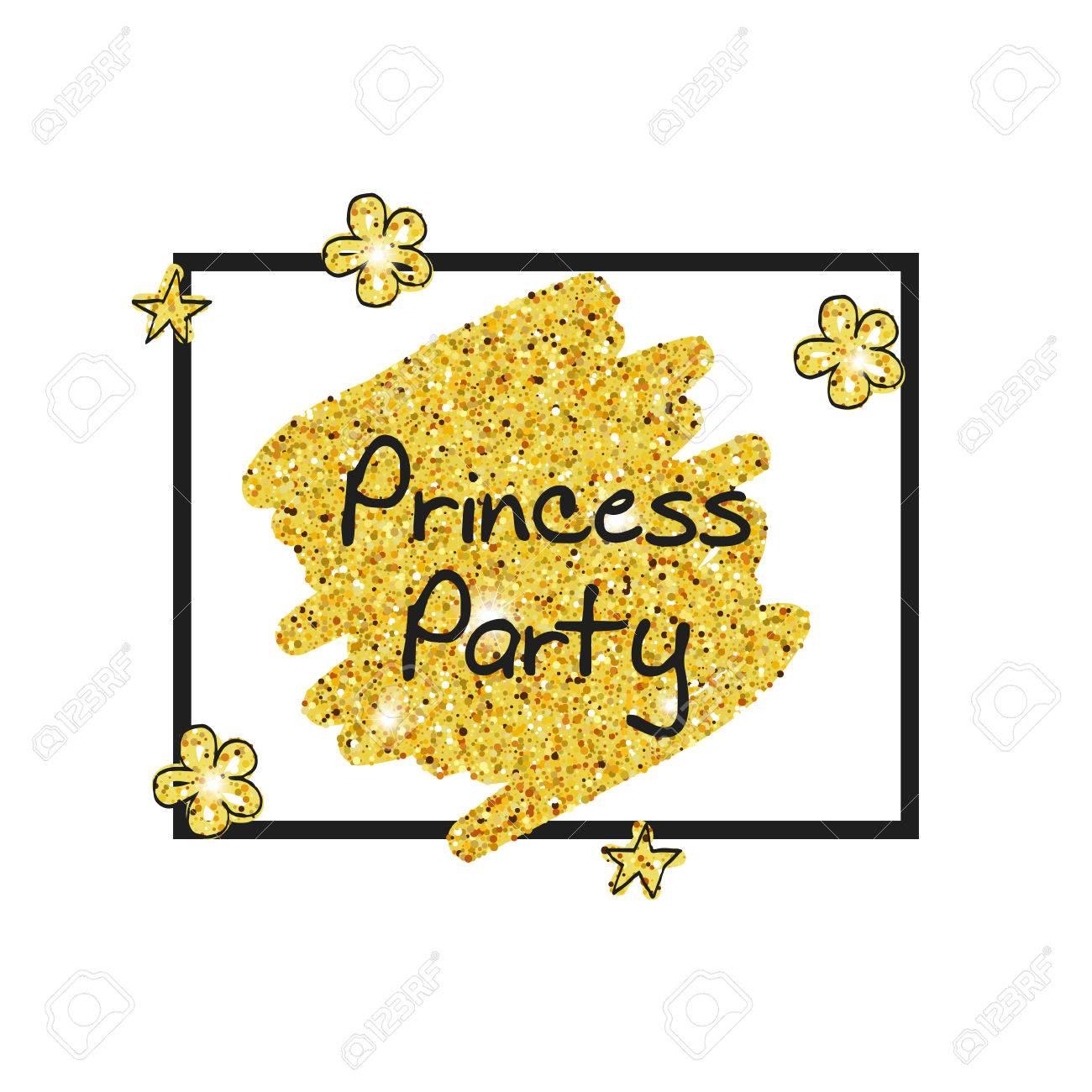 Glitter Vector Background. Birthday, Party Invitations. Birthday ...