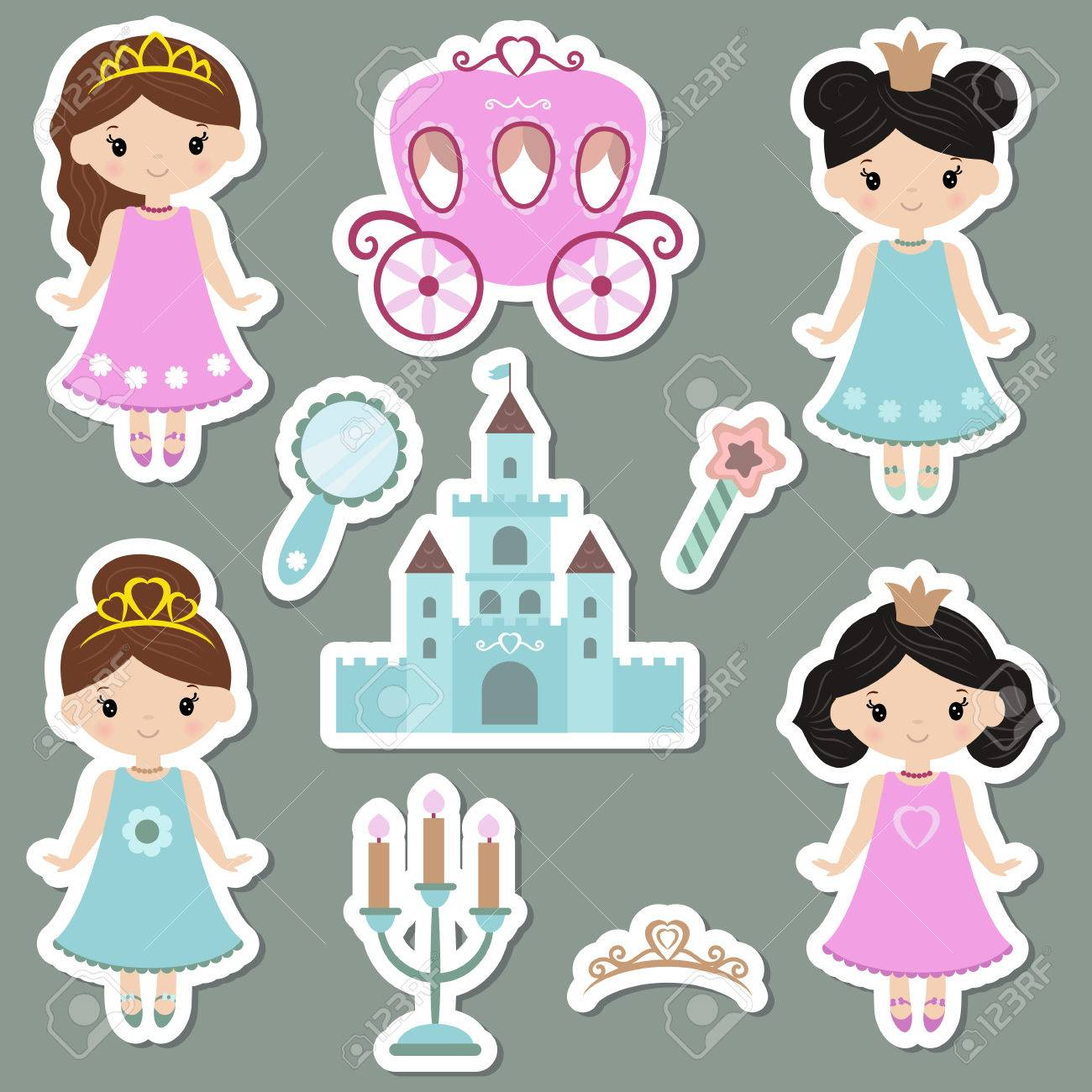 Disney Princesses Clipart Prinsesa - Princesa Tiana Cute Png , Free  Transparent Clipart - ClipartKey