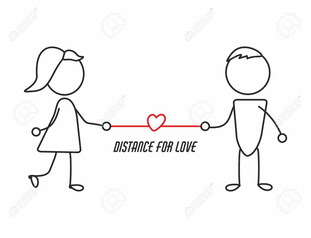 Distance love the of Long Distance