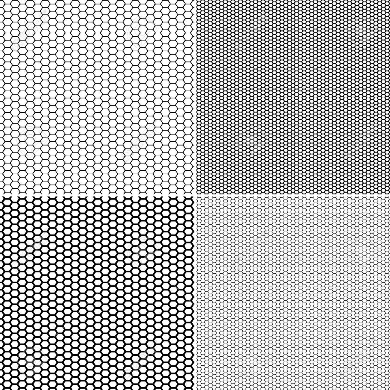 Vector Fishnet pattern in ornamental style. Set vector seamless pattern stockings kapron pattern - 107021633