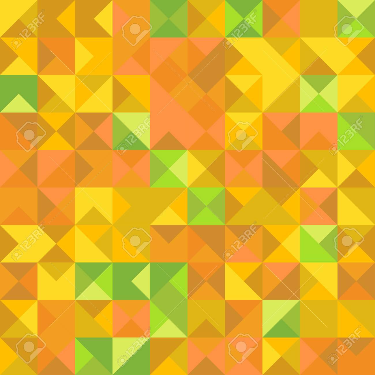 Vettoriale Astratto Sfondo Giallo Verde E Arancione Image 75435655