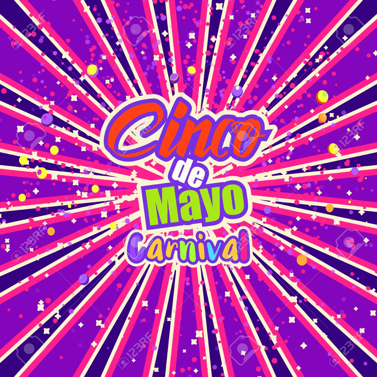 cinco de mayo celebration in mexico design element poster greeting card or brochure - Mexico Brochure Template