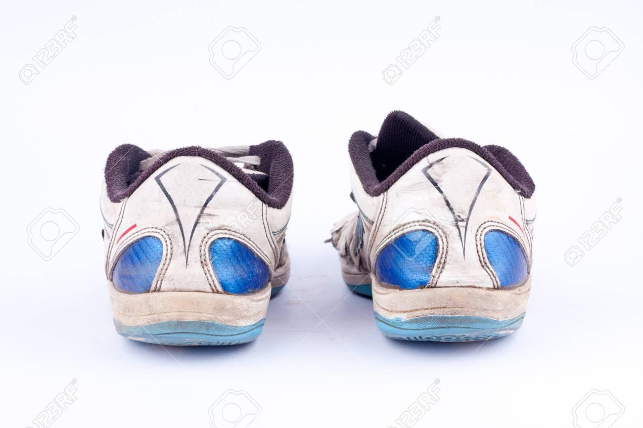Immagini Retrò Futsal Sportive Stock Vecchie Scarpe Su Consumate prRUpwxY