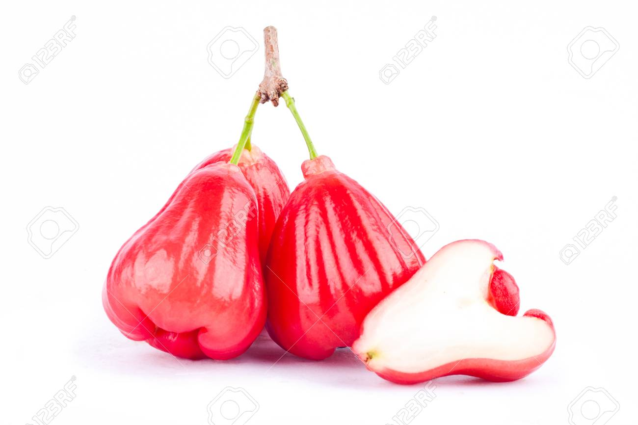 Red Rose Apple Fruit
