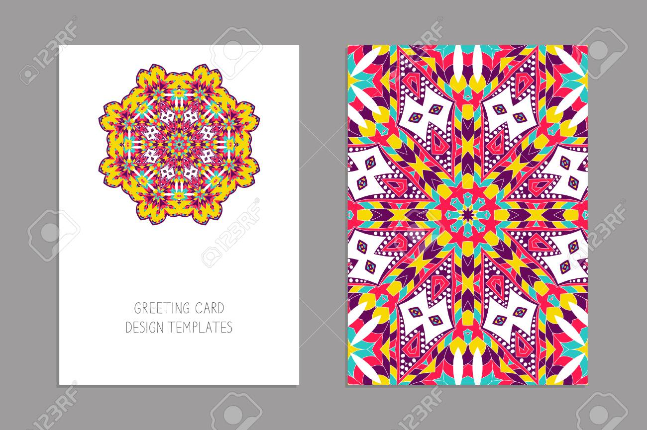 Templates For Greeting And Business Cards Brochures Covers
