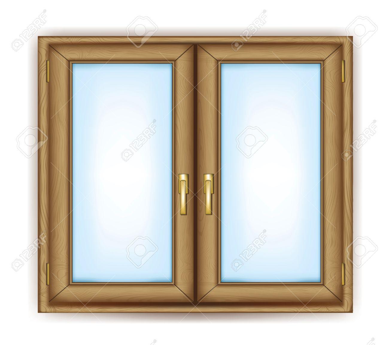 Fenster geschlossen clipart  Geschlossene Fenster Mit Gold Verarbeitet Vektor- Lizenzfrei ...