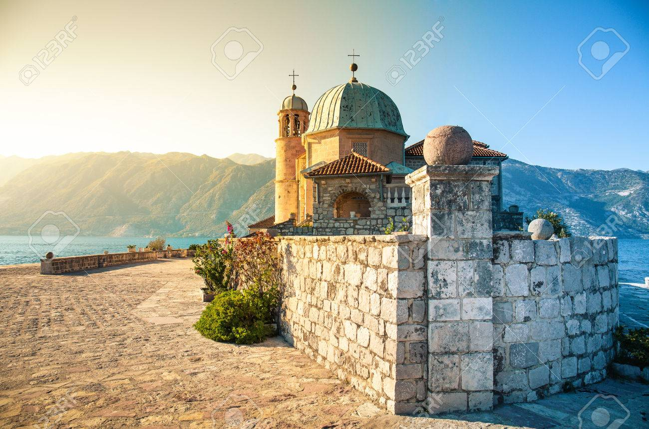 Island of Our Lady of the Rocks. Perast, Montenegro - 71659376