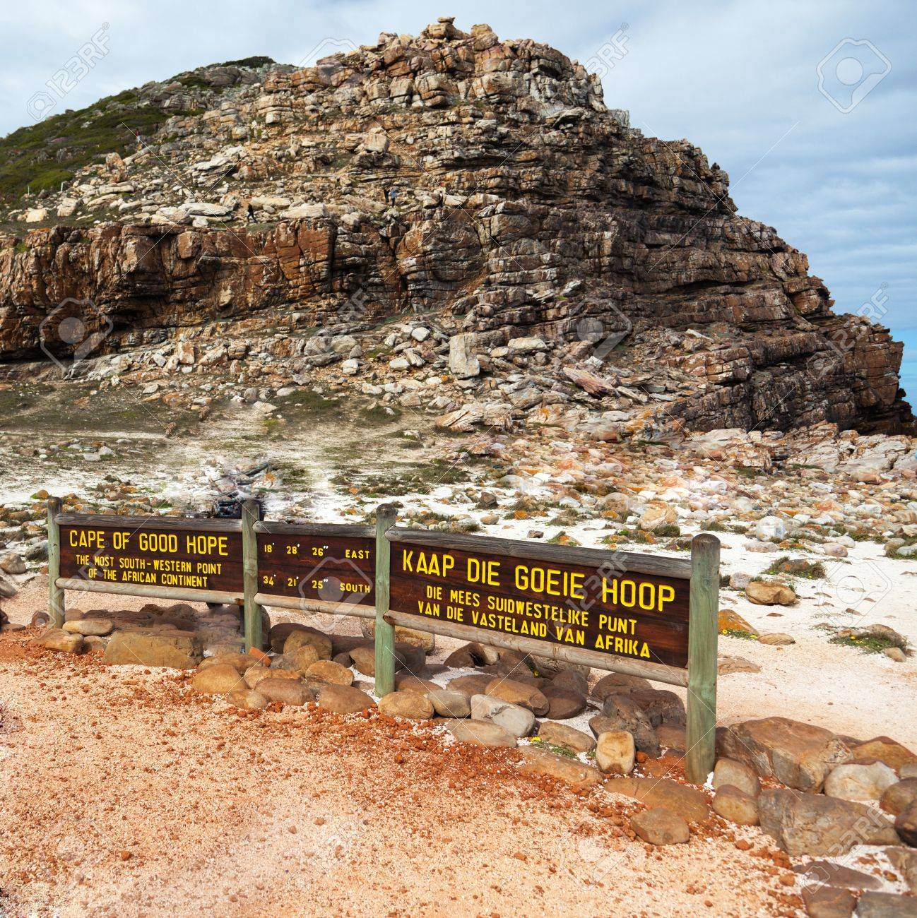 Cape of Good Hope in South Africa - square Stock Photo - 10317147