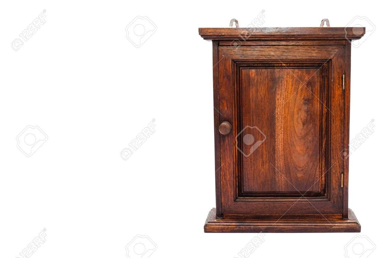 Stock Photo   Wood Key Cabinet